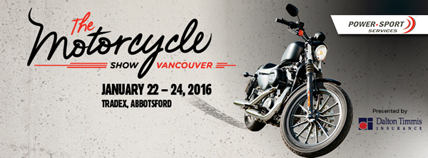 2016 The Motorcycle Show Vancouver