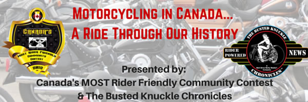 Motorcycling in Canada - A Ride Through our History