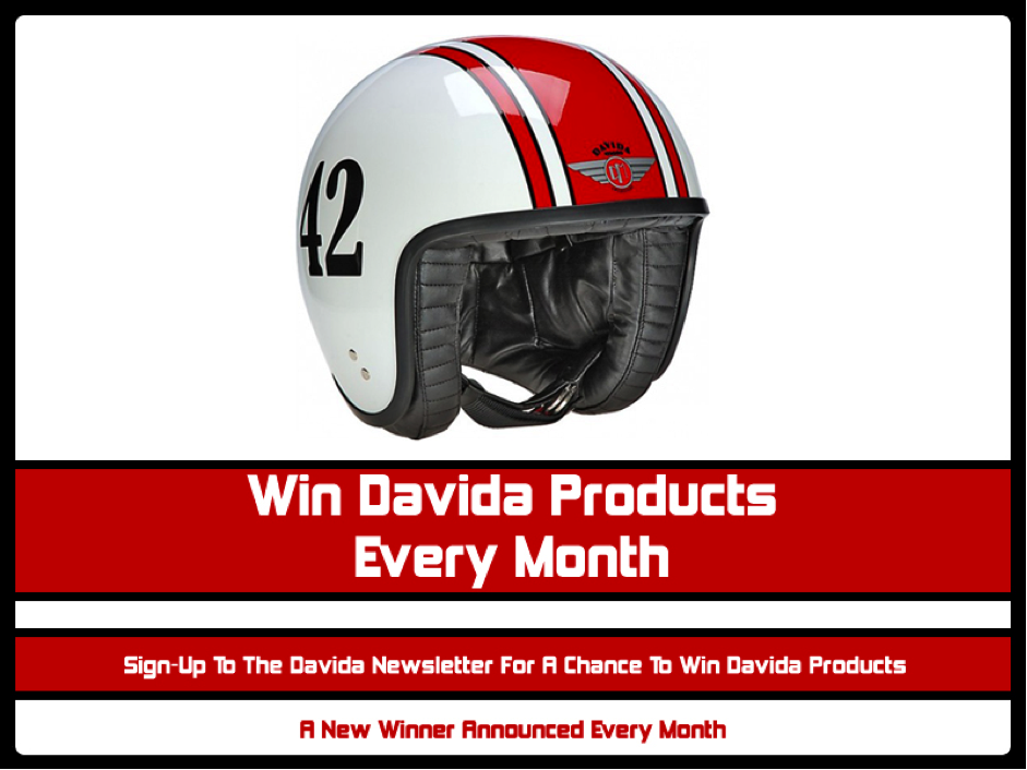 Win Davida Products Every Month